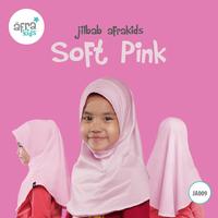 Jilbab Anak - Soft Pink