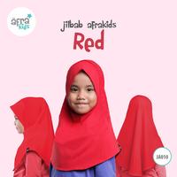 Jilbab Anak - Red
