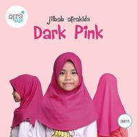 Jilbab Anak - Dark Pink