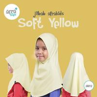 Jilbab Anak - Soft Yellow