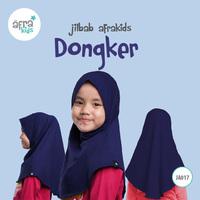Jilbab Anak - Dongker