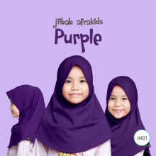 Jilbab Anak Afrakids - Purple