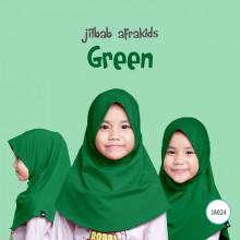 Jilbab Anak Afrakids - Green