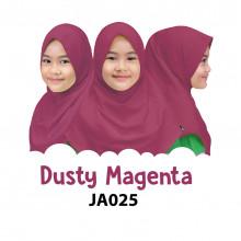 Jilbab Anak Afrakids - Dusty Magenta