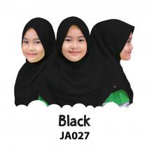 Jilbab Anak Afrakids - Black