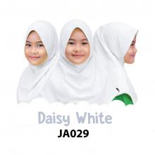 Jilbab Anak Afrakids - Daisy White