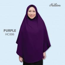 Jilbab Hudaiva Alana Purple