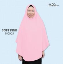 Jilbab Hudaiva Alana Soft Pink