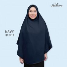 Jilbab Hudaiva Alana Navy