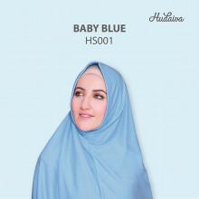 Jilbab Hudaiva Syiria Baby Blue