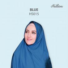 Jilbab Hudaiva Syiria Blue