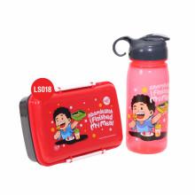 Kotak Bekal dan Botol Minum - Lunchset