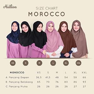 Size Chart Hudaiva Morroco